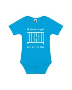 """Romper """"Out of the Box"""" - Blauw"""