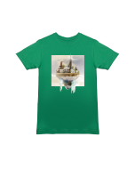 T-Shirt  Designed in Breda - Princenhage (Groen)