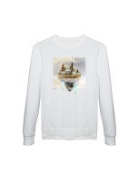 Sweater Designed in Breda - Princenhage (Wit)