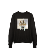 Sweater Designed in Breda - Princenhage (Zwart)